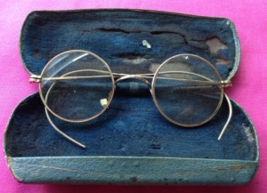 John Lennon's Personally Owned Round Rimmed Glasses