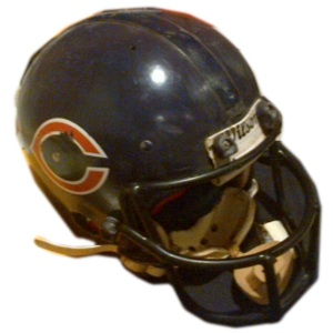 Walter Paytons Game-Worn Helmet in Sports Auction BidAMI.com