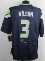 Seahawks Wilson Signed Jeresy