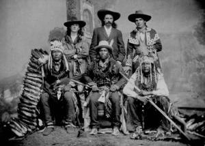 Sitting Bull and Annie Oakley