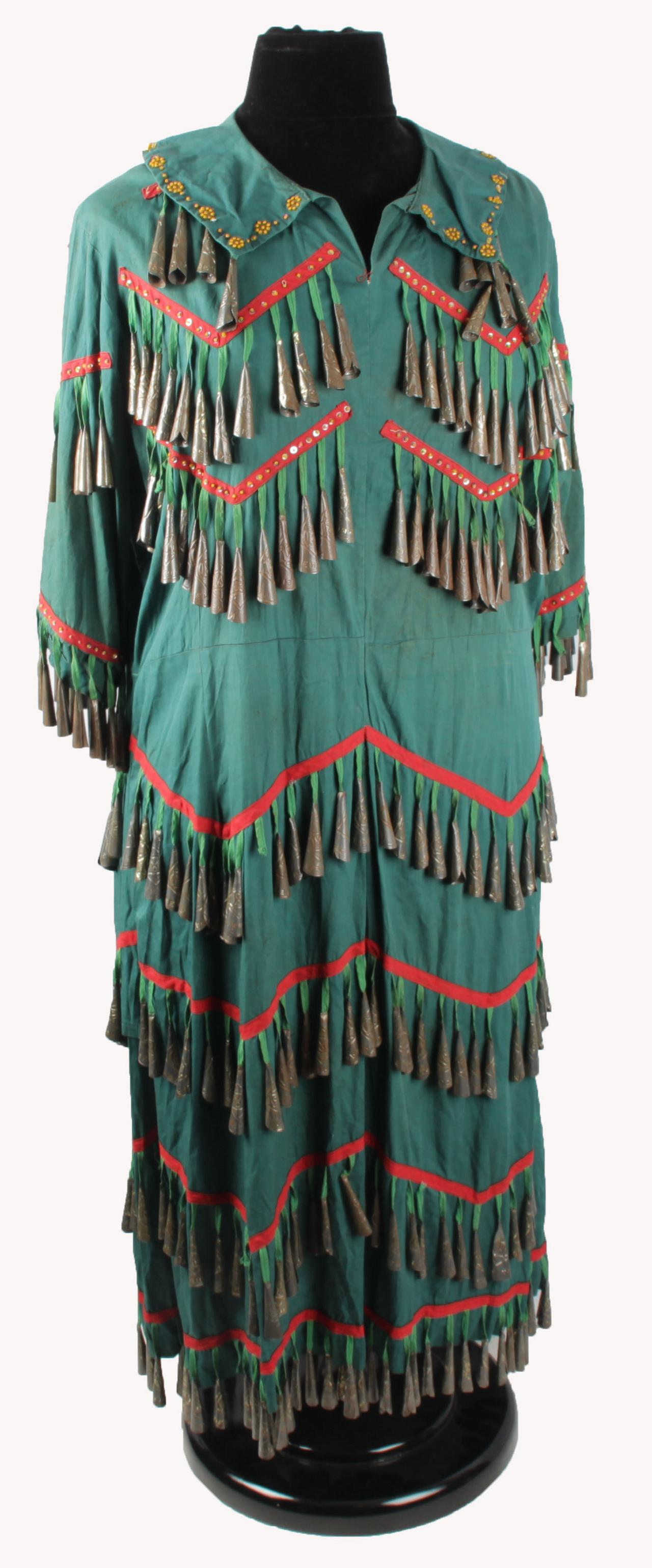 Uncovered After Years Annie Oakley S Jingle Dress From