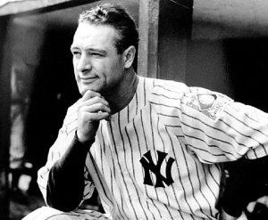Yankees Lou Gehrig