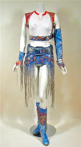 Britney Spears Autographed Worn Super Bowl Outfit