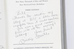 Mickey Mantle Autographed Big Book