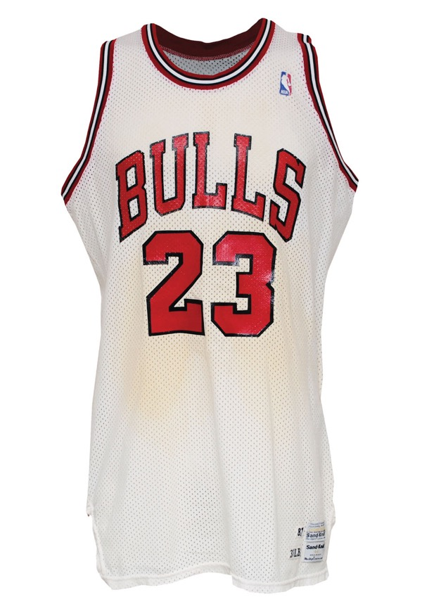 cheaper c4e2f a215c Determining Use on Michael Jordan Game-Worn Jersey ...