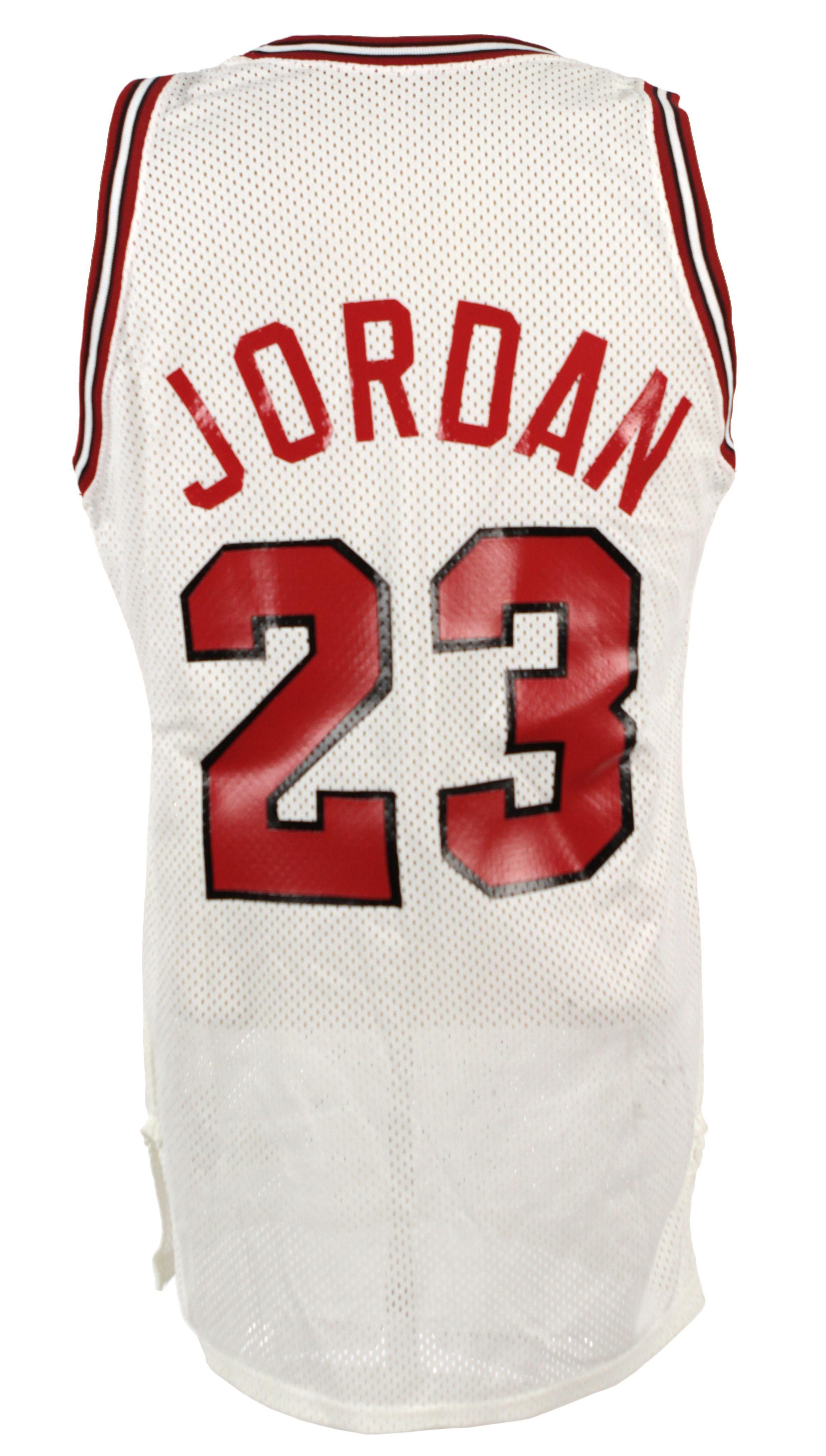 cheaper 33821 74e44 Determining Use on Michael Jordan Game-Worn Jersey ...